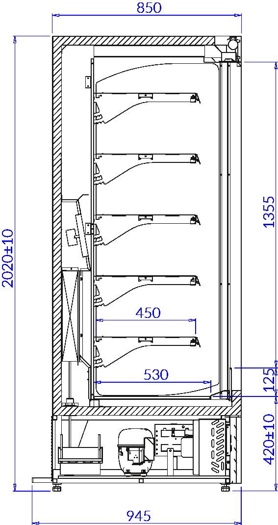 Rysunek techniczny ECOMAX