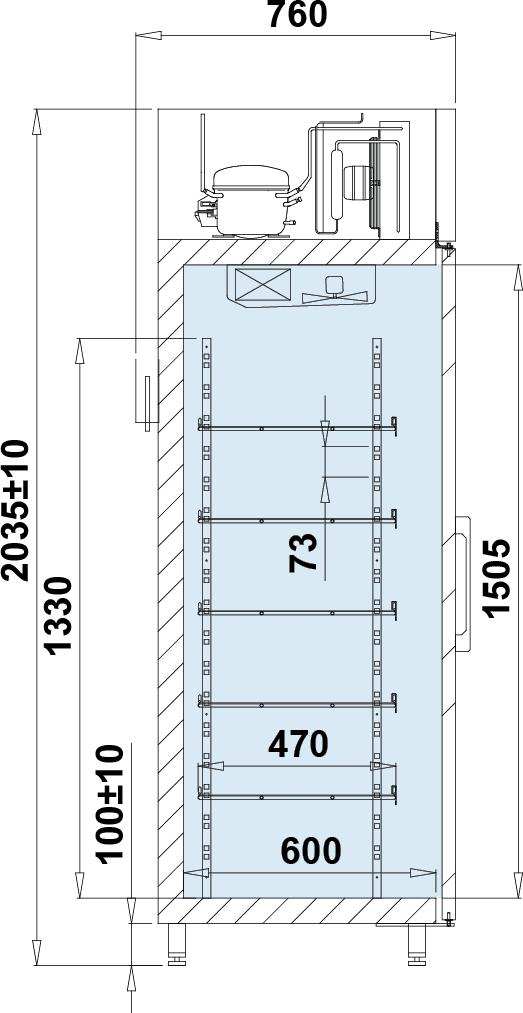 Rysunek techniczny EWA 1 AG M