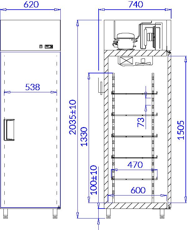 Rysunek techniczny EWA P AG