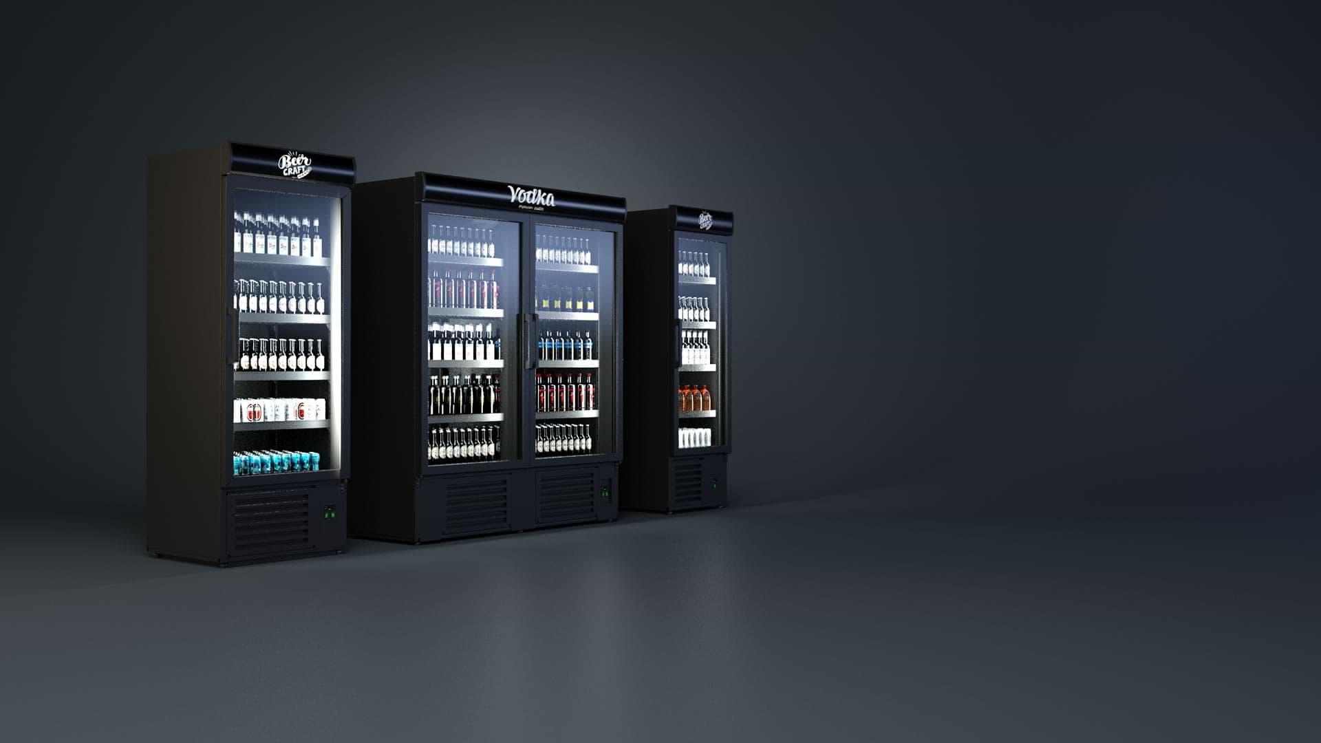 Szafy chłodnicze na alkohol i napoje