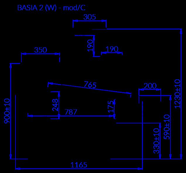 Technische Bezeichnung BASIA 2 W MOD C