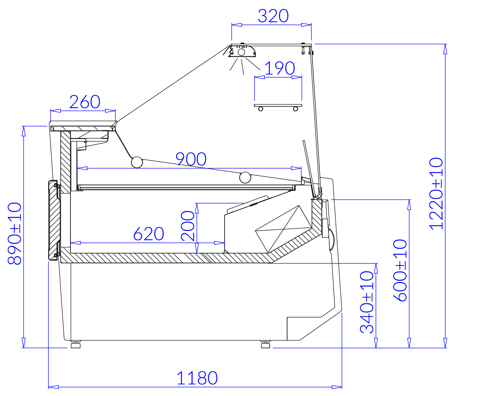 Technische Bezeichnung LUZON DEEP–MOD/C LUZON DEEP MOD C