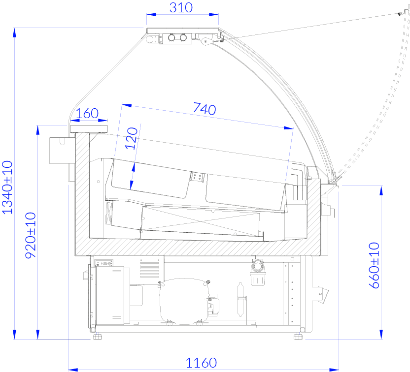 Technical drawing ADRIA ICE