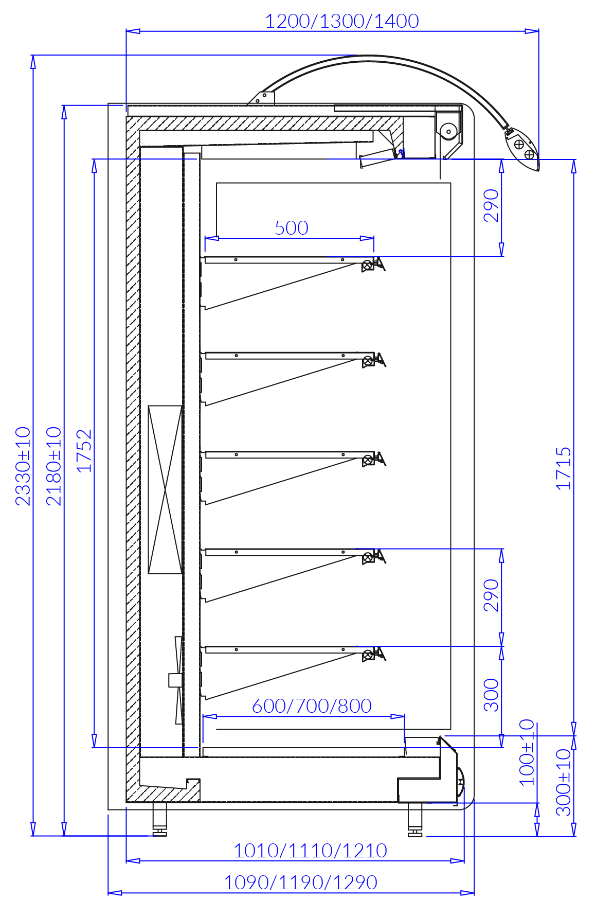 Technical drawing BARBADOS MOD/C BARBADOS MOD C