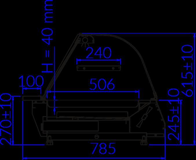 Technical drawing CELINA CELINA
