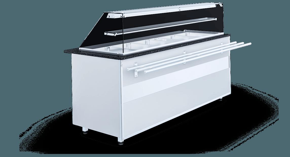 Heated display cases | IGLOO