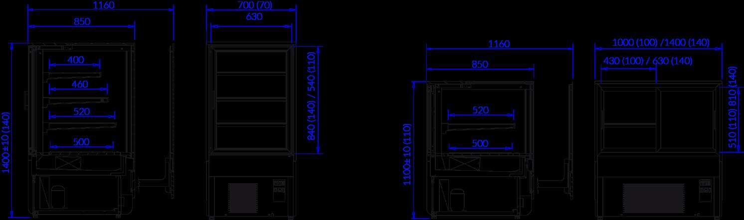 Technical drawing INNOVA