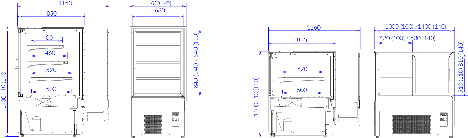 Technical drawing INNOVA MOD C