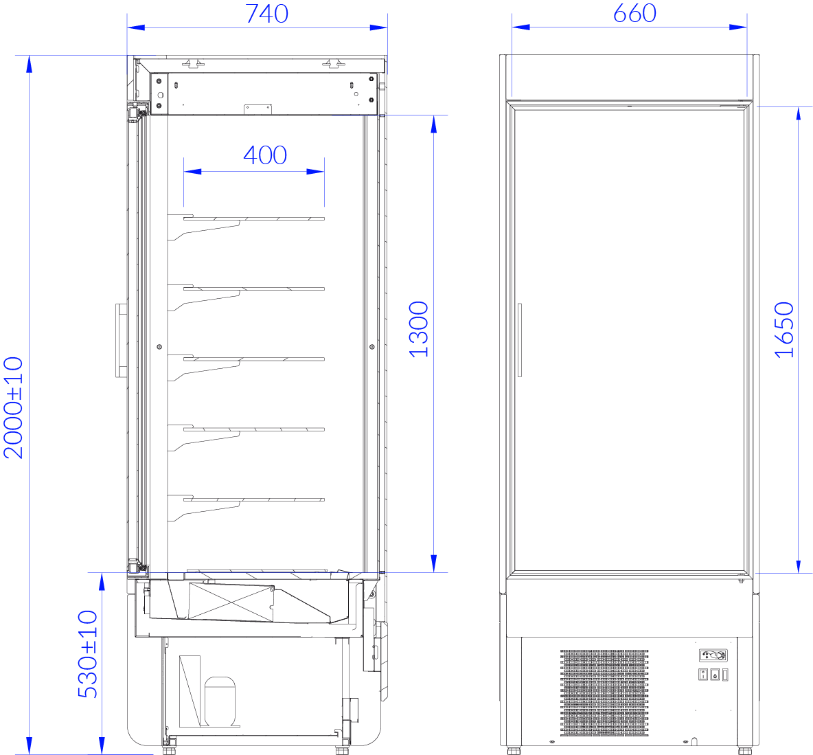 Technical drawing INNOVA T