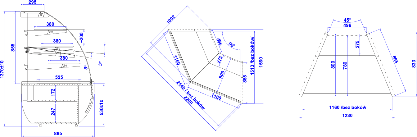Technical drawing JAMAJKA N JAMAJKA N