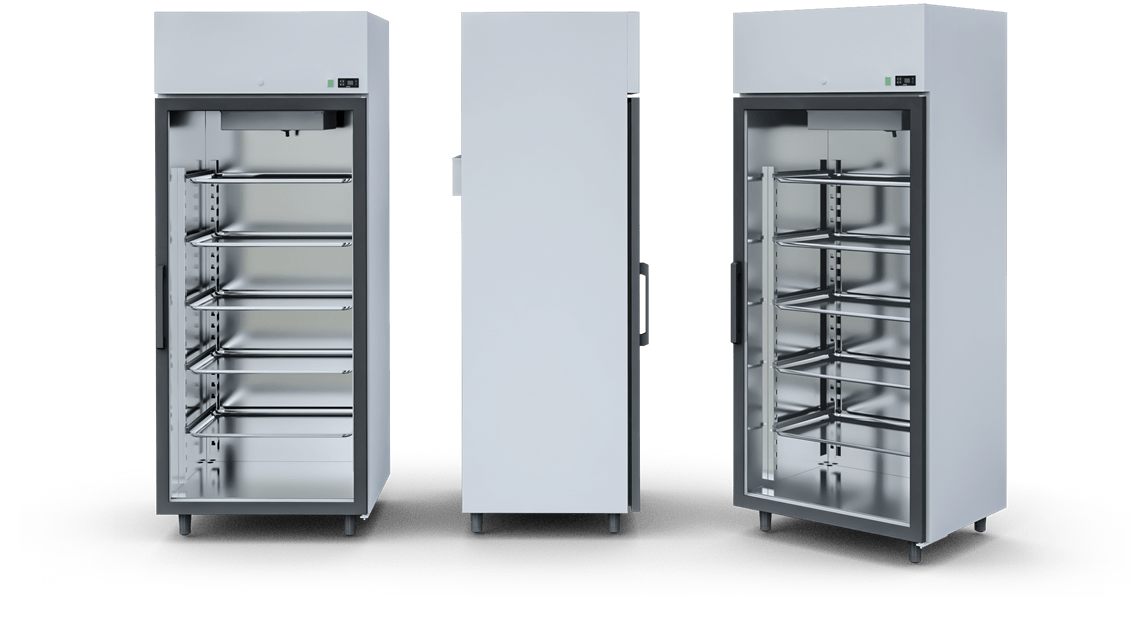 COOLING CABINETS, MEDIUM-FREEZING AND FREEZING CABINETS WITH UPPER AGGREGATE (AG TYPE) | IGLOO