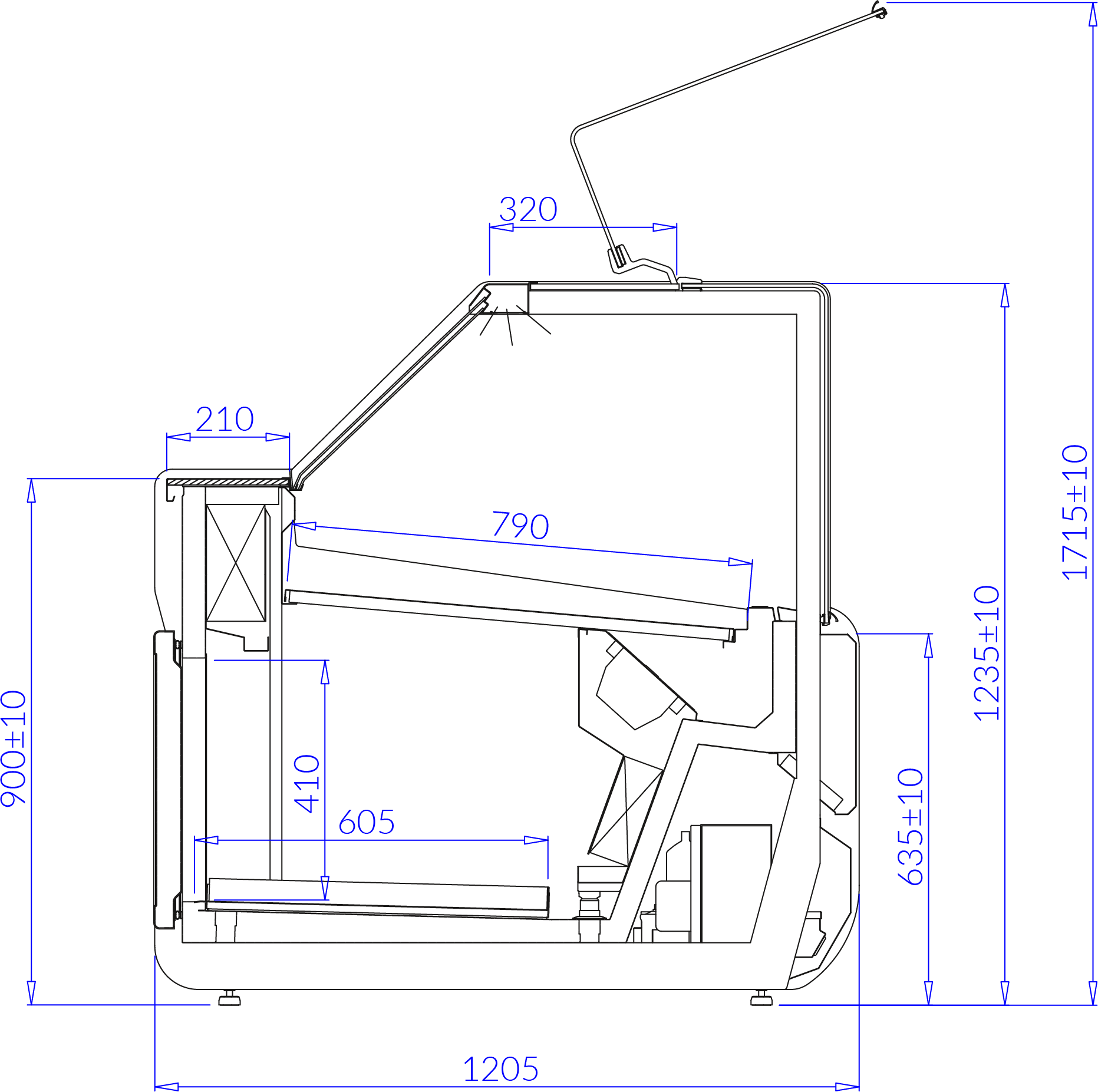 Technical drawing JUMBO