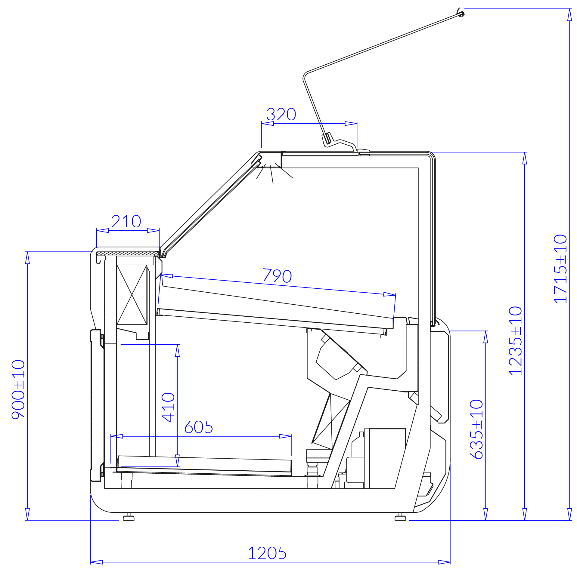 Technical drawing JUMBO MOD C