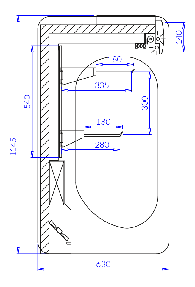 Technical drawing MIŁOSZ 2 MOD C