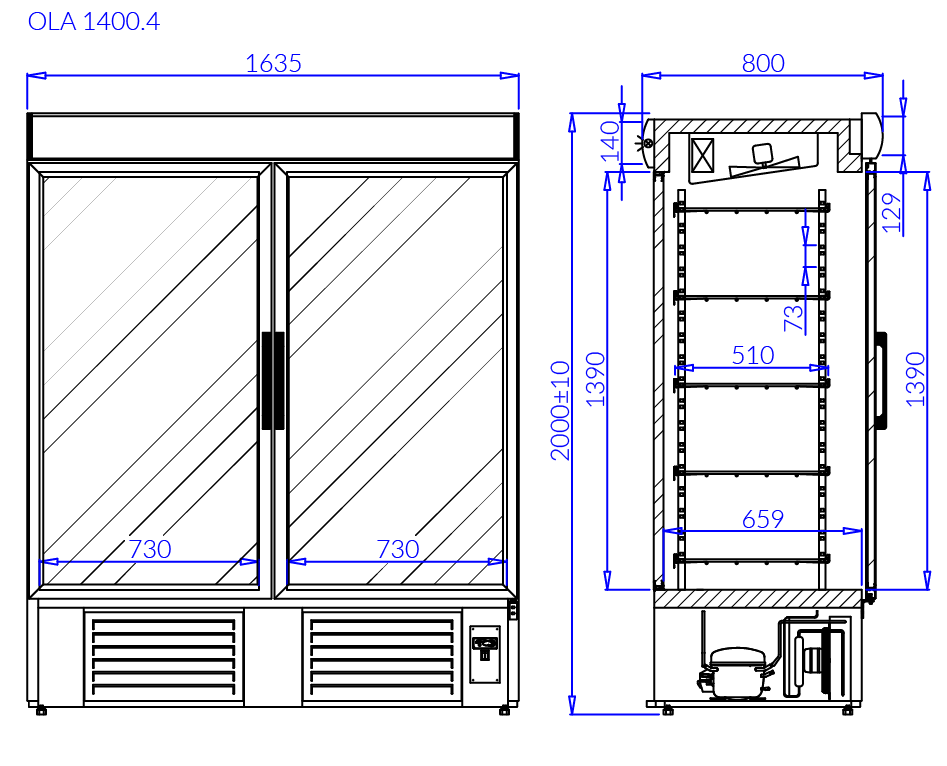 Technical drawing OLA 4