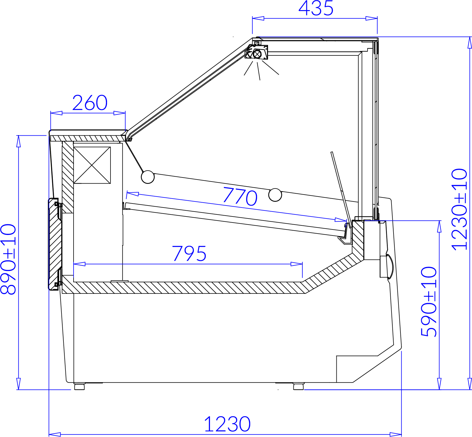 Technical drawing SAMOS