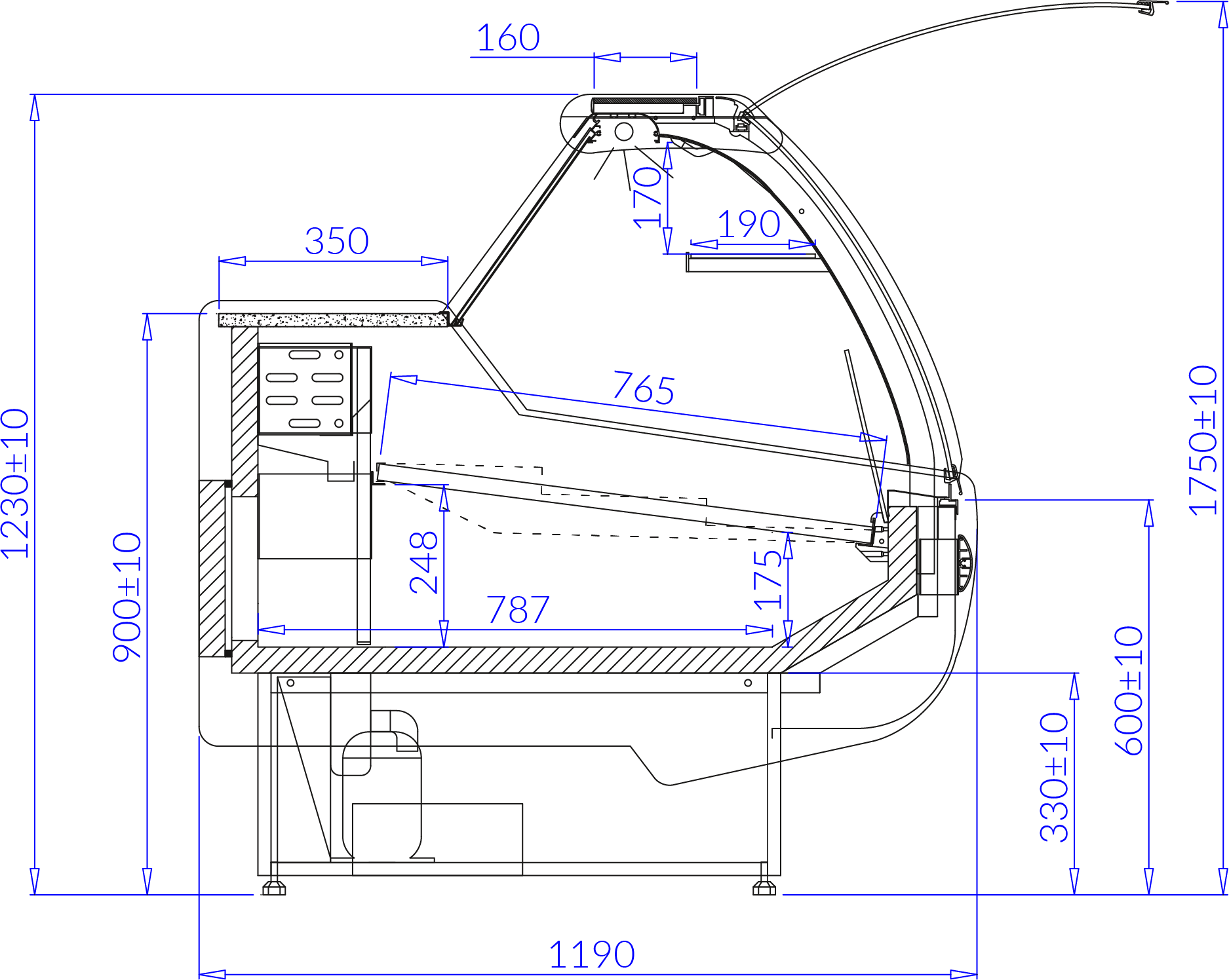 Technical drawing SANTIAGO S