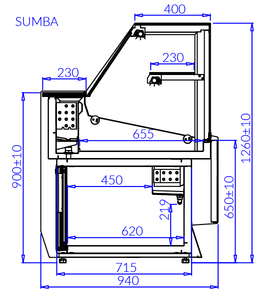 Technical drawing SUMBA MOD C