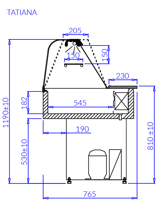 Technical drawing TATIANA