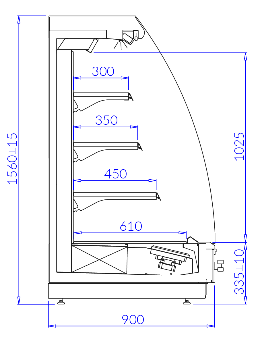 Technical drawing TOBAGO 2