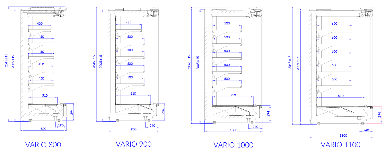Technical drawing VARIO L