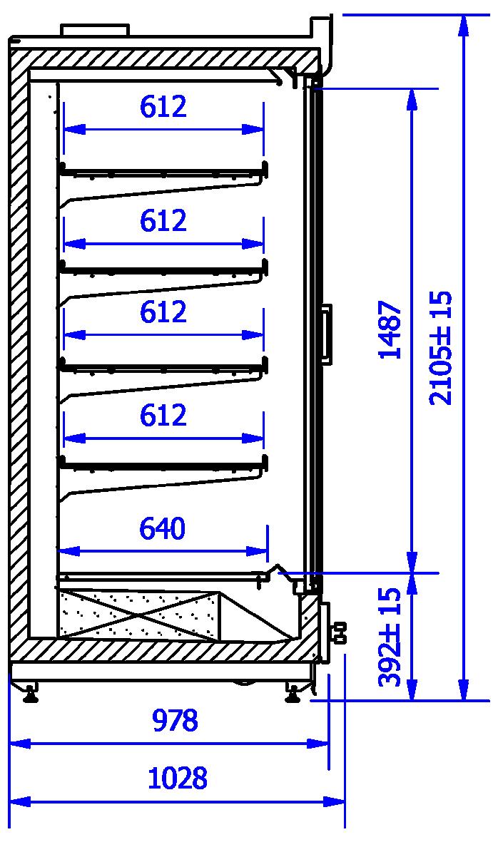 Technical drawing VARIO M L