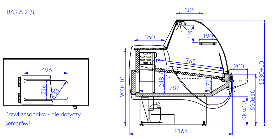 Dessin technique BASIA 2 S