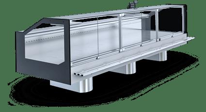 Холодильные витрины, острова и холодильные стеллажи | IGLOO