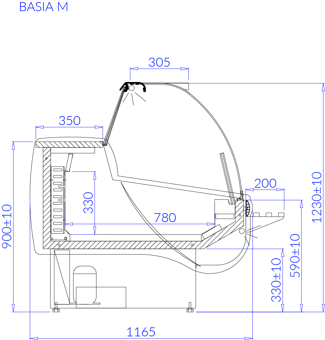 Технический чертеж BASIA M