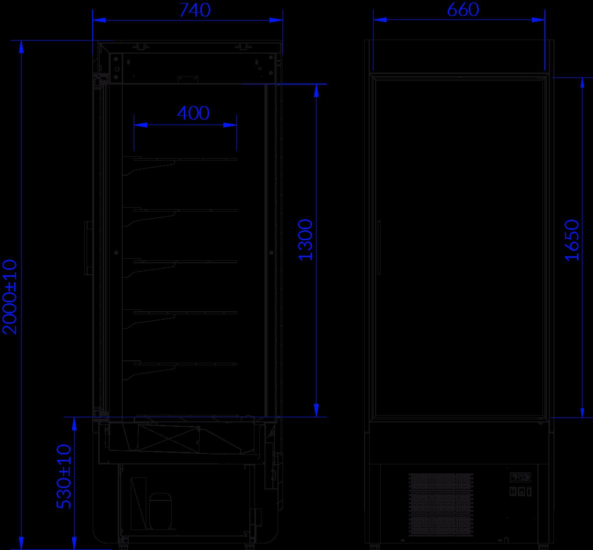 Технический чертеж INNOVA T