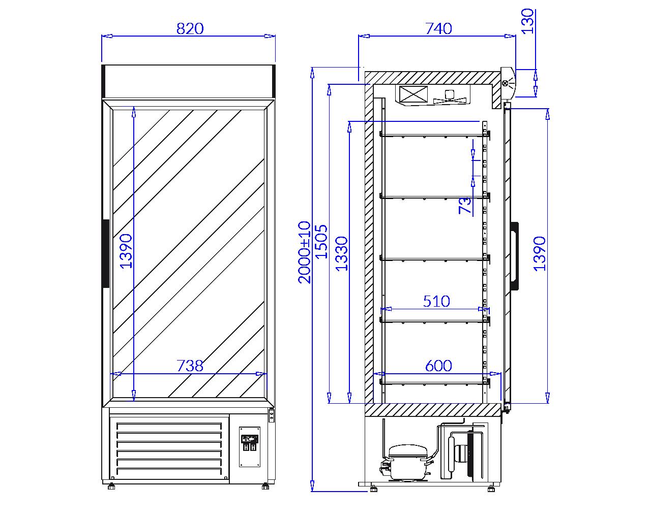 Технический чертеж JOLA 1