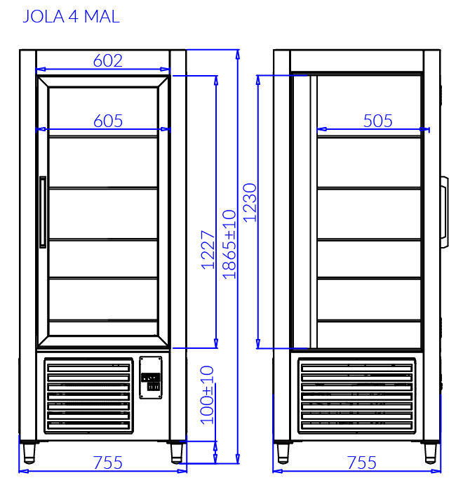 Технический чертеж JOLA 4 MAL
