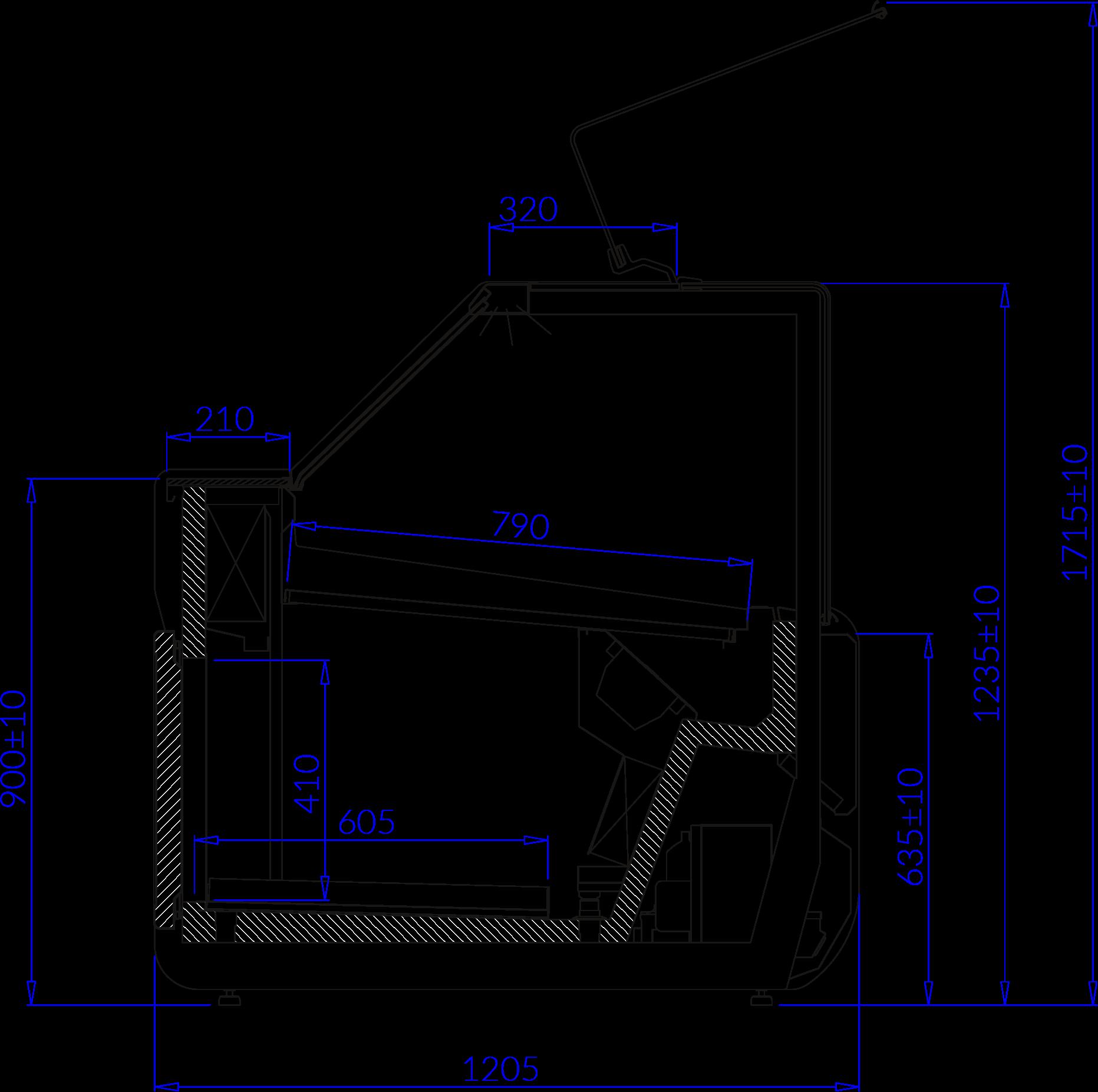 Технический чертеж JUMBO