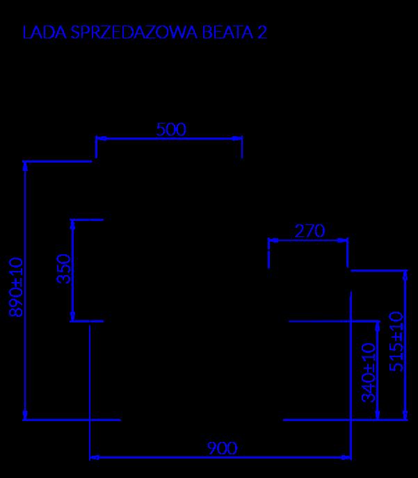Технический чертеж LADA BEATA