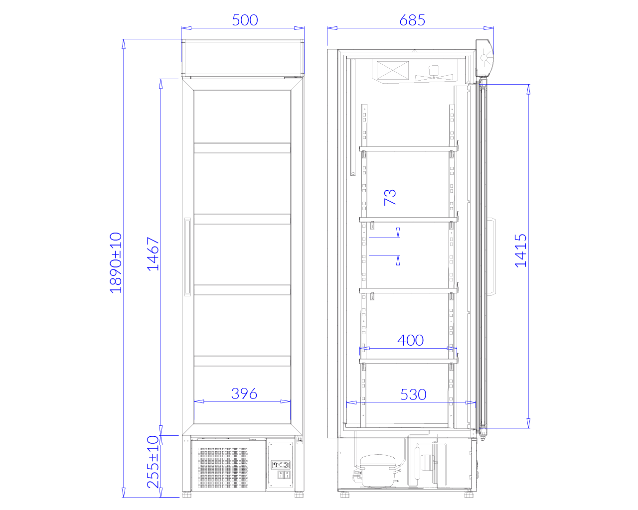 Технический чертеж MALTA 1 MALTA 1