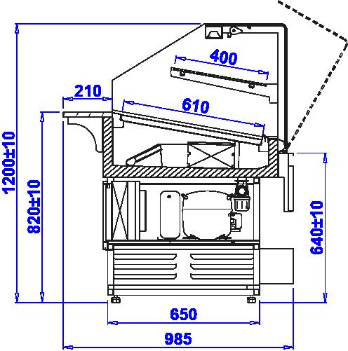 Технический чертеж PASTELLA W